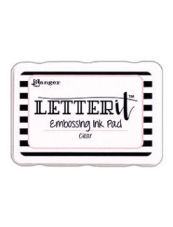 Ranger Letter It Embossing Ink Pad Clear
