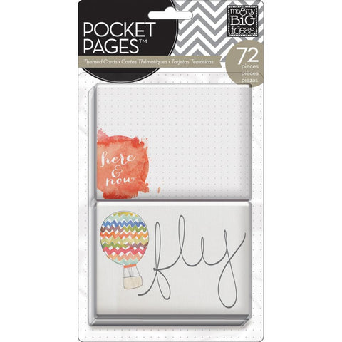 MAMBI Pocket Pages Themed Cards Love This
