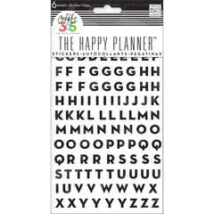 MAMBI Create 365 The Happy Planner Alpha stickers