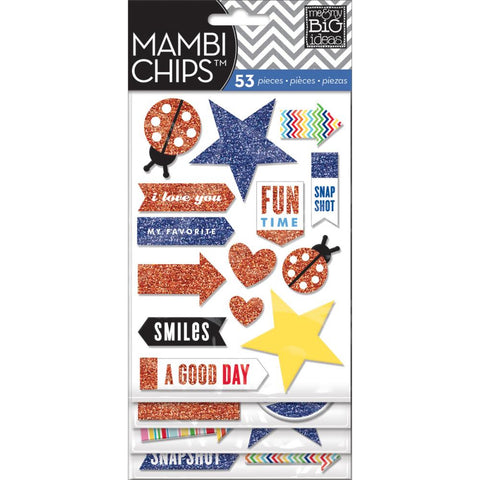 MAMBI Chips Stickers Happy Day