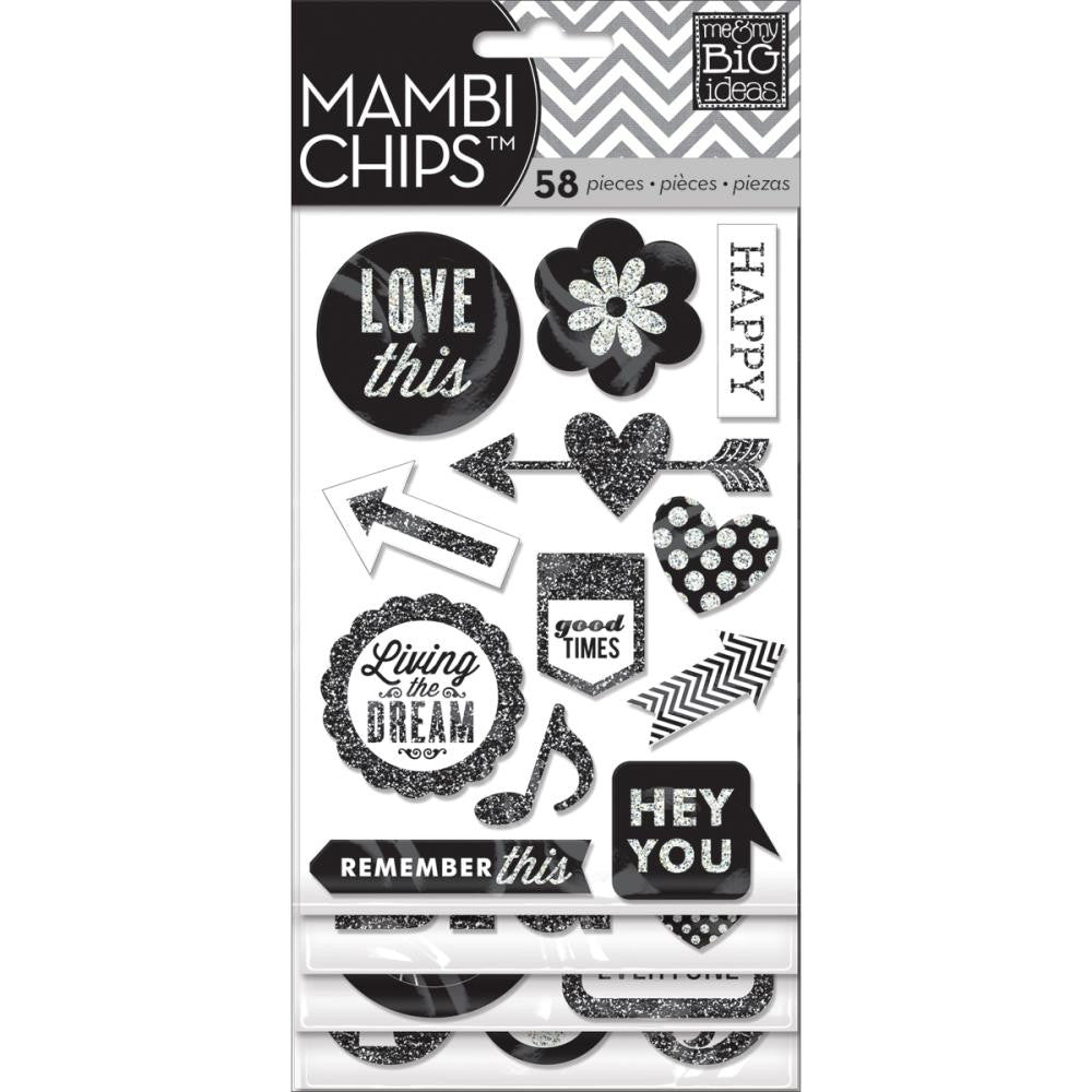 MAMBI Chips Stickers Hey You