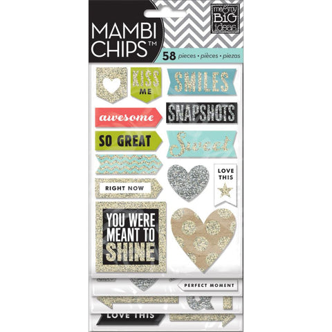 MAMBI Chips Stickers Love This