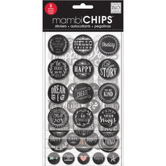 MAMBI Chips Stickers Hello Friend