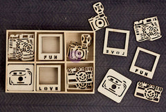 Prima Wood Embellishments Create Memories