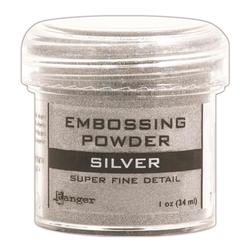 Ranger Super Fine Silver Embossing Powder
