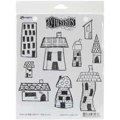 Dylusions Stamp Set Right Up Your Street
