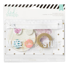 Heidi Swapp Flea Market Pouch Kit - Make Pretty Stuff