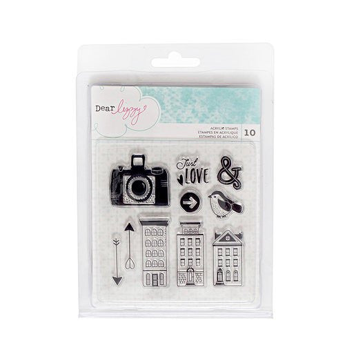 Dear Lizzy Saturday Acrylic Stamps