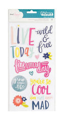 AC Thickers Phrase Stickers Lovely