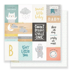 Crate Paper Little You 12x12 Paper Little One