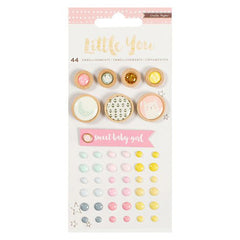 Crate Paper Little You Girl Embellishments