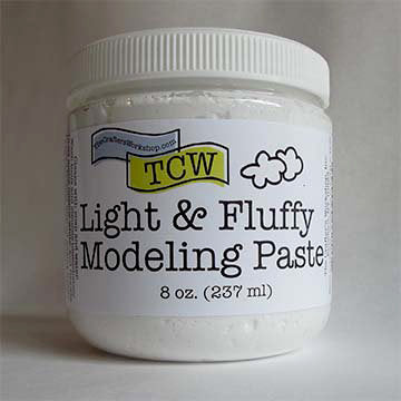 TCW Light and Fluffy Modeling Paste