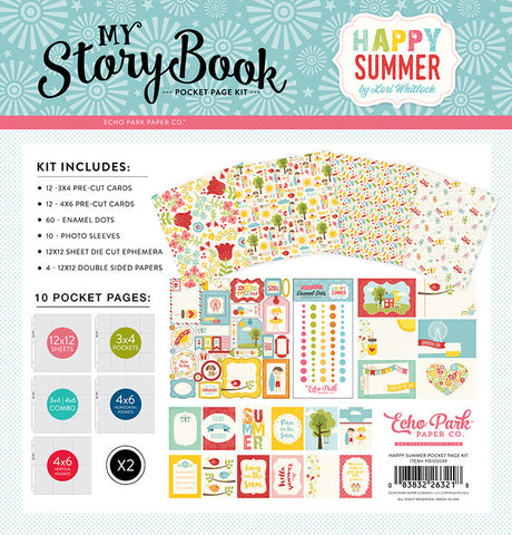 Echo Park My Story Book Happy Summer Pocket Page Kit