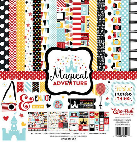Echo Park Magical Adventure 12x12 Collection Kit