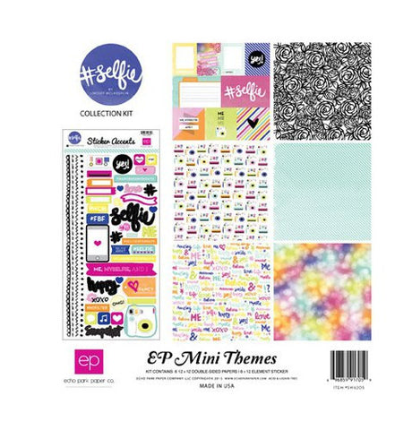Echo Park Mini Themes Collection Kit #Selfie