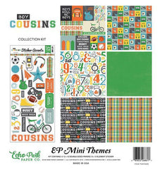 Echo Park Mini Themes Boy Cousins Collection Kit