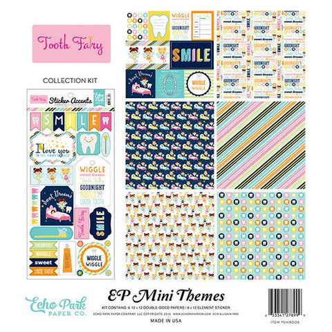 Echo Park Mini Themes Collection Kit Tooth Fairy