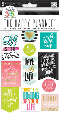 Mambi Create 365 Life Quote Stickers