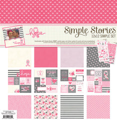 Simple Stories 12x12 Simple Set Hope