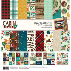 Simple Stories 12x12 Collection Kit Cabin Fever