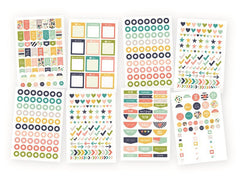Carpe Diem Posh Planner Basics Stickers