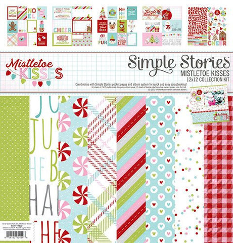 Simple Stories Mistletoe Kisses Collection Kit