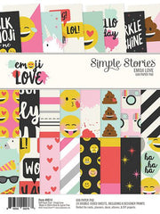 Simple Stories Emoji Love 6x8 Paper Pad