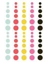 Simple Stories Emoji Love Enamel Dots