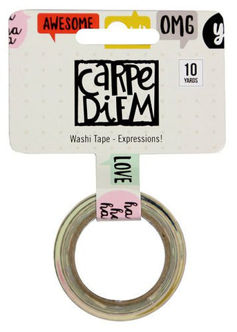 Carpe Diem Washi Tape Expressions