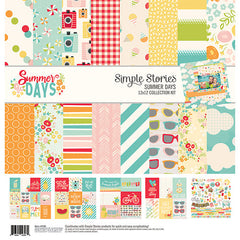 Simple Stories 12x12 Collection Kit Summer Days