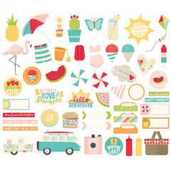 Simple Stories Bits & Pieces Summer Days