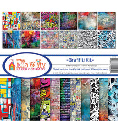 Ella & Viv Paper Company Collection Kit - Graffiti Kit