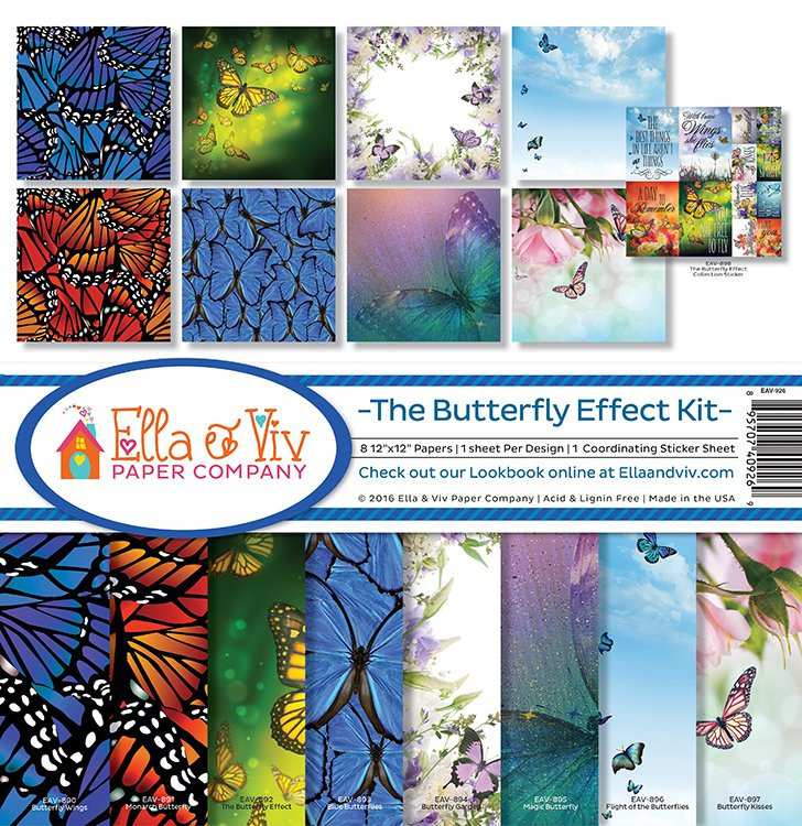 Ella & Viv Paper Company Collection Kit - The Butterfly Effect Kit