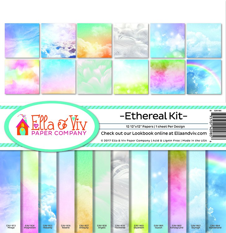 Ella & Viv Paper Company Collection Kit - Ethereal Kit