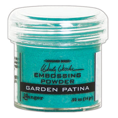 Ranger Wendy Vecchi Embossing Powder Garden Patina