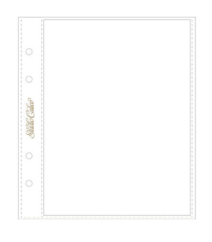 Studio Calico Page Protectors 6x8 6 Pack