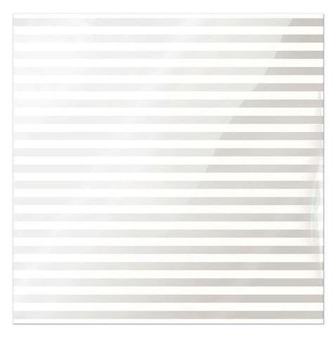 WRMK Clearly Bold White Stripe