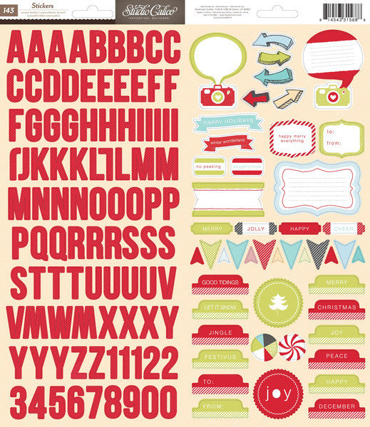 Studio Calico Accent Stickers