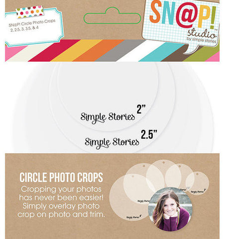 Simple Stories Snap Circle Photo Crops