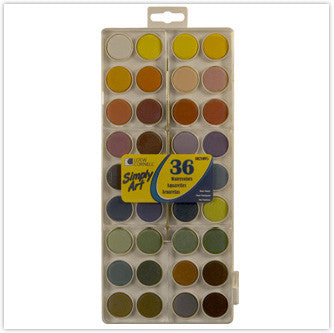 Loew Cornell Simply Art Watercolour Cakes - 36