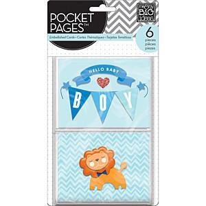 Mambi Embellished Cards Baby Boy