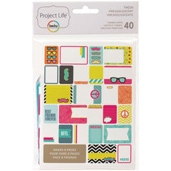 Project Life Themed Cards 40 Pack Tween