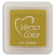 Versa Color Mini Ink Pad Khaki