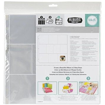 WRMK Albums Made Easy Page Protectors Mixed Pack 20 Pack