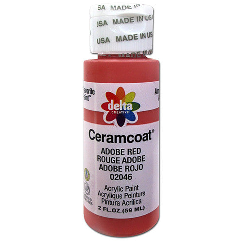 Ceramcoat Acrylic Paint Adobe Red