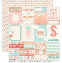 CV-ES005 Endless Summer 12x12 Paper This & That