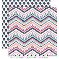 CV-WH008 Wild At Heart Bohemian Pattern Paper