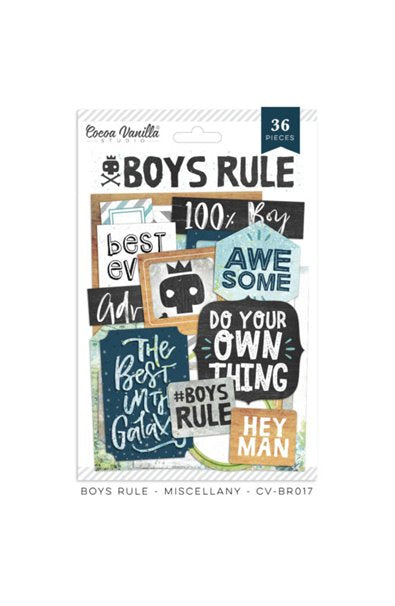 CV-BR 017 Boys Rule Miscellany (36 pieces)