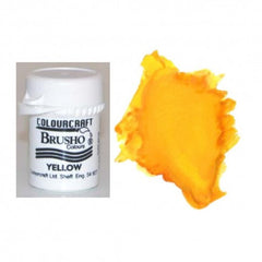 Brusho Colours - Water Colour Powder - Yellow