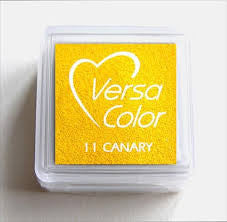Versa Color Mini Ink Pad Canary
